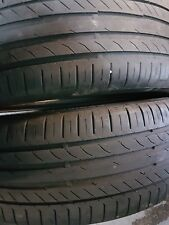 x2 225/45/19 continental contact sport 5 tyres