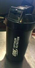 Black Optimum Nutrition SmartShake  Protein Shaker Bottle 800ml