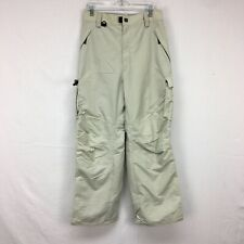 Used Turbine Perfomance Boardwear Khaki Snow Ski Pants Mens Sz L