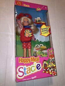 Vintage 1993 Mattel Stacie Barbie Little Sister Happy Meal McDonalds 11474