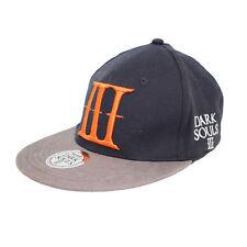 Dark Souls 3 III Official Logo Black Snapback Cap Hat