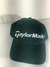 TaylorMade Golf Baseball Cap Hat Green Strapback Dad Hat Adjustable