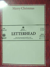 Letterhead Christmas Masterpiece Studios - 8.5x11 injet copier laser 100 Sheets
