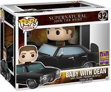 Supernatural Dean e Baby SDCC 2017 esclusivo POP! Figura in vinile scatola danneggiata!