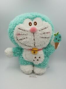 "Doraemon B2505 Icecream Fujiko-Pro Sk Japan 8"" Plush TAG Stuffed Toy Doll"