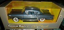 CHEVROLET Impala Coupé 1958 Bleu métal  1/18 American Muscle