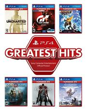 Uncharted Bloodborne PS4 PS5 Game - PlayStation PS Hits Range Collection Bundle