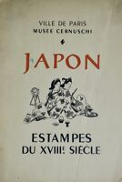 JAPON ESTAMPES DU XVIII SIECLE 1950