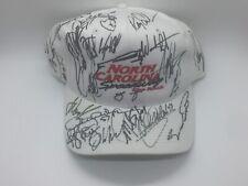 **RARE** NASCAR The Rock North Carolina Speedway Signed Hat **Many Signatures**