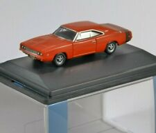 1968 DODGE CHARGER in Bright Red 1/87 scale model OXFORD DIECAST