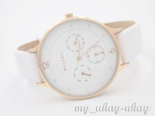 SKAGEN SKW2311 Multifunction White Dial White Leather Ladies Watch