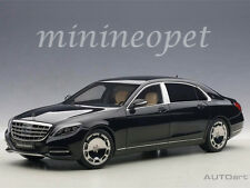 AUTOart 76293 MERCEDES BENZ MAYBACH S-KLASSE S 600 1/18 MODEL CAR BLACK