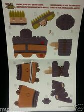 SDCC San Diego Comic Con 2014 Handout NARUTO Ninja Storm 3D Paper Craft Figure