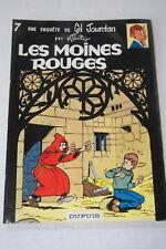 UNE ENQUETE DE GIL JOURDAN N°7 LES MOINES ROUGES TILLIEUX  BD 1983