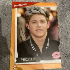 One Direction Niall Horan Signed Poster