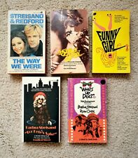 Barbra Streisand  - Lot of 5 Paperback books -Movie Titles