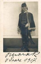 OTTOKAR MARAK opera tenor signed photo as Ghermann in Pique Dame