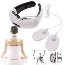 Neck Back Electric Pulse Cervical Massager Relief Vertebra Instrument Treatment