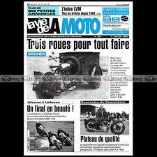 LA VIE DE LA MOTO LVM N°284 ★ TRIPORTEUR TRIMOTEUR PEUGEOT MOTOTRI CONTAL ★
