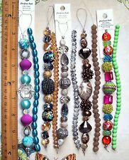 BEAD LOT 5 Jesse James Strands & 5 Coordinating Crystal Strands Jewelry Making 5