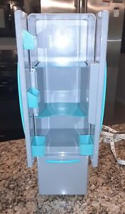 """My Life As Doll Kitchen Refrigerator / Ice Maker has lights and sound 18"""" EUC"""
