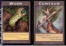 Centaur Wurm Token // NM // Your Move Games // engl. // Magic the Gathering