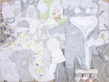 34Tlg SET Baby Starterset Gr 50 56 62 68 Erstausstattung Traum Paket Unisex  TOP
