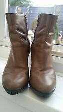 Geox Respira Ankle Boots, size 6UK EU 39 VGC - RRP £115 Good Condition D03Q9N