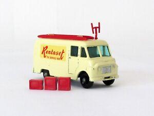 Vintage Lesney Matchbox #62 Rentaset TV Service Van Regular Wheels XLNT 1963