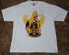 Used 2004 Cher Farewell Tour White 2-Sided Adult X-Large Very Good Condition
