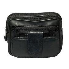 GHS Soft Sheep Nappa Leather Belt/Wrist Bag Purse Wallet Camera Handy Pockets