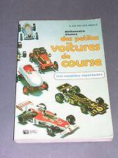 Automobile dict. des petites voitures de course 1000 modèles Van Den Abeele 1975