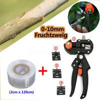 2in1 Gartenschere Ratschenschere Veredelungszange Schere +Veredelungsband