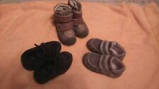3 x boys shoes, size 22,24 and size 6, used as per pictures, different brands