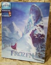 Walt Disney FROZEN Blu-Ray 3D+2D BLUFANS China Exclusive ANNA STEELBOOK OOP #606