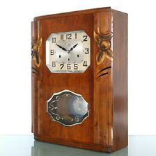 JURA Wall Clock AVE MARIA/Westminster RARE Chime ANTIQUE 10 Bars ART DECO France