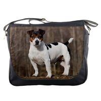 JACK RUSSELL TERRIER DOG PUP Puppy messenger laptop carry bag 100608463