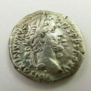 Ancient Roman Silver Denarius of Antoninus Pius circa 138-161 AD (803)