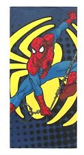 Spiderman Spidey Go Pool Beach Towel 28x58 Velour/Terry Jumping Beans Nwt $26