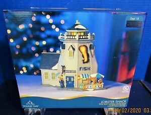 New Holiday Time 2006 Blue Waters Collection Dept 18 Lobster Shack Lights