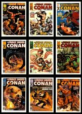 1988 SAVAGE SWORD OF CONAN COMPLETE BASIC TRADING CARD SET