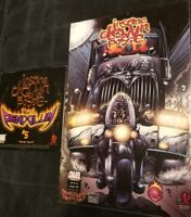 Insane Clown Posse  - The Pendulum 5 Comic Book & CD twiztid hallowicked juggalo