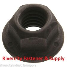 (10) 1/2-13 Grade 8 All Metal Flange Lock Nut / Wiz Nuts 10 pieces   1/2 x 13