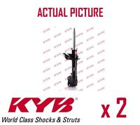 2 x FRONT AXLE SHOCK ABSORBERS PAIR STRUTS SHOCKERS KYB OE QUALITY 339081