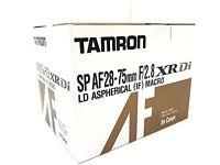 New TAMRON SP AF 28-75mm f/2.8 XR Di Lens [A09E] - CANON