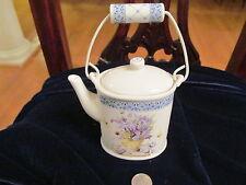 Marjolein Bastin Nature'S Sketchbook Teapot Candle So Pretty So Rare!