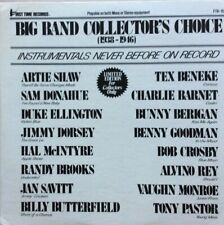 """VARIOUS """"THE BIG BAND SCENE"""" 1970s SWING JAZZ MINT PRISTINE CONDITION"""