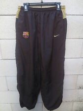 Pantalon F.C BARCELONE BARCELONA NIKE pant marron football training L