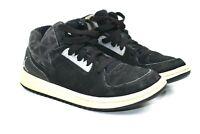 Nike Air Jordans Black Gray Suede High Tops Kids Retro Size 1y 707321-004