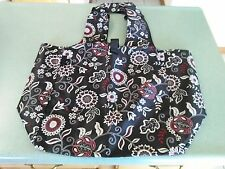 Longaberger Sisters Market Fabric Tote bag in Enchanted pattern NEW in hand